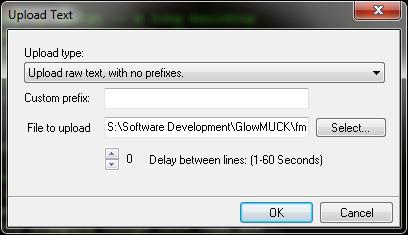 SimpleMU: Upload Text 2
